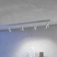 Stage Wand- / Deckenleuchte, Aluminium geschliffen, 4-flg.