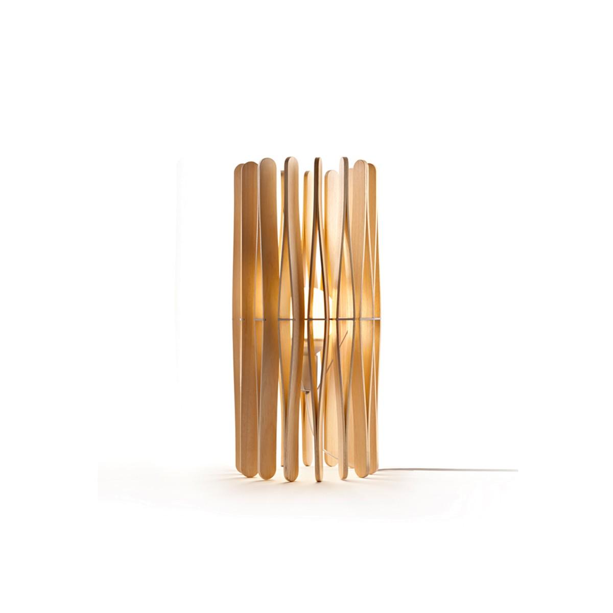 Fabbian Stick Tischleuchte LED (E27), Holz