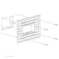 Einbauset Unterputz / Mauerwerk für Mike India 50 Accent Long, ohne Raum für Konverter