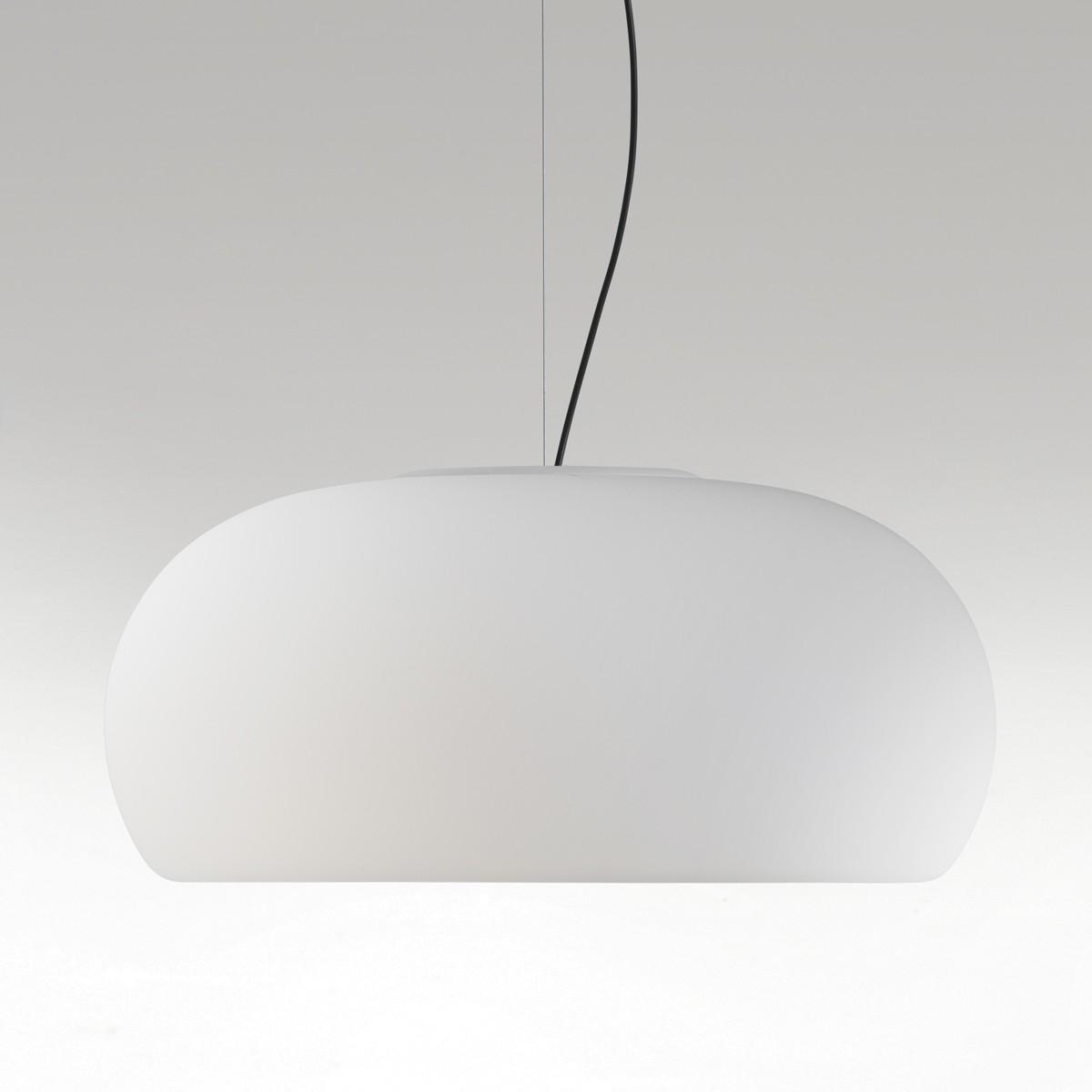 Marset Vetra LED Pendelleuchte, Ø: 43 cm, weiß