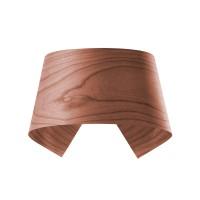 LZF Lamps Hi-Collar LED Wandleuchte, schokolade