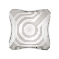 Venti Plana Ceiling / Wall, medium, Breite: 54 cm, hyperwhite effect