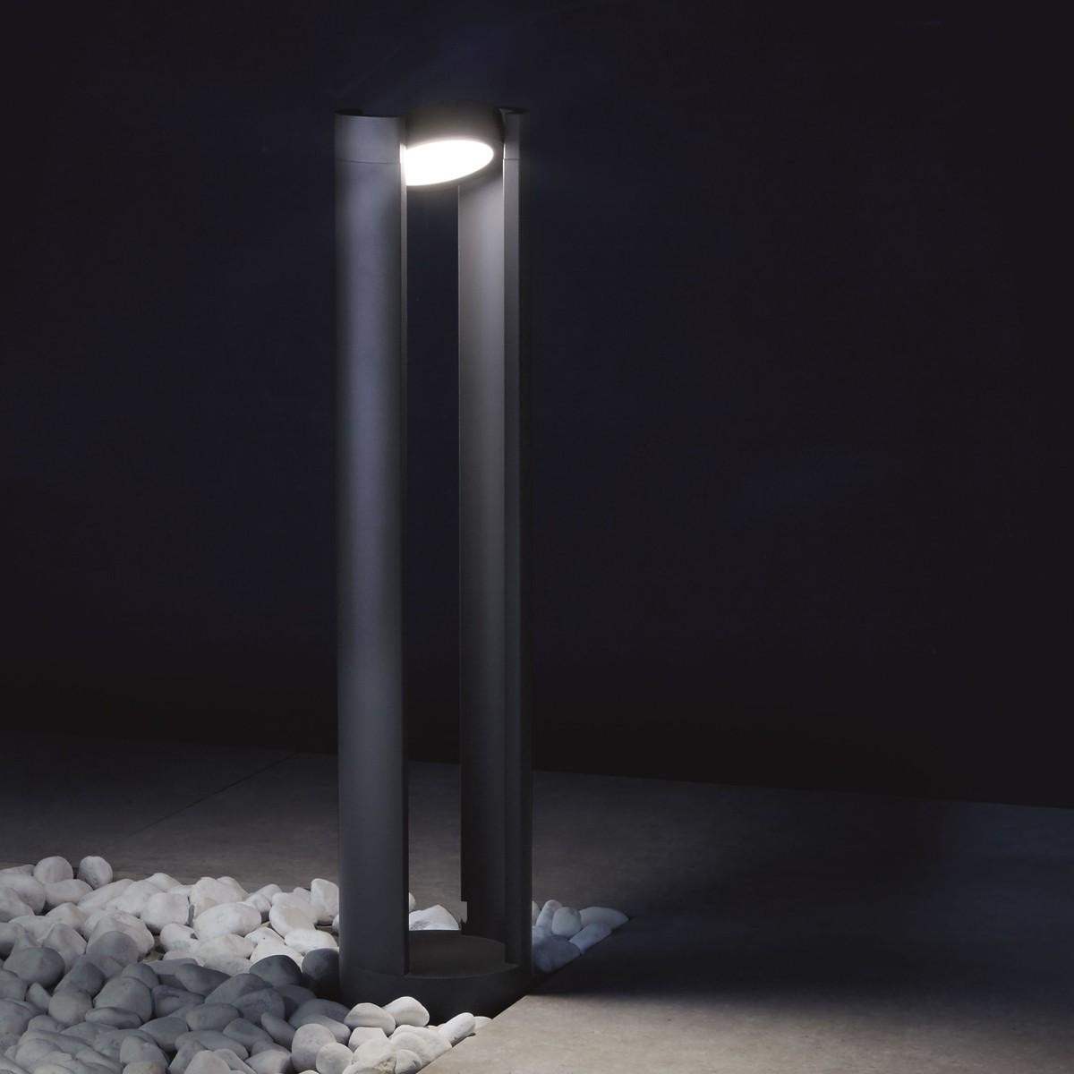 Lupia Licht Tella Pollerleuchte, Höhe: 80 cm, anthrazit