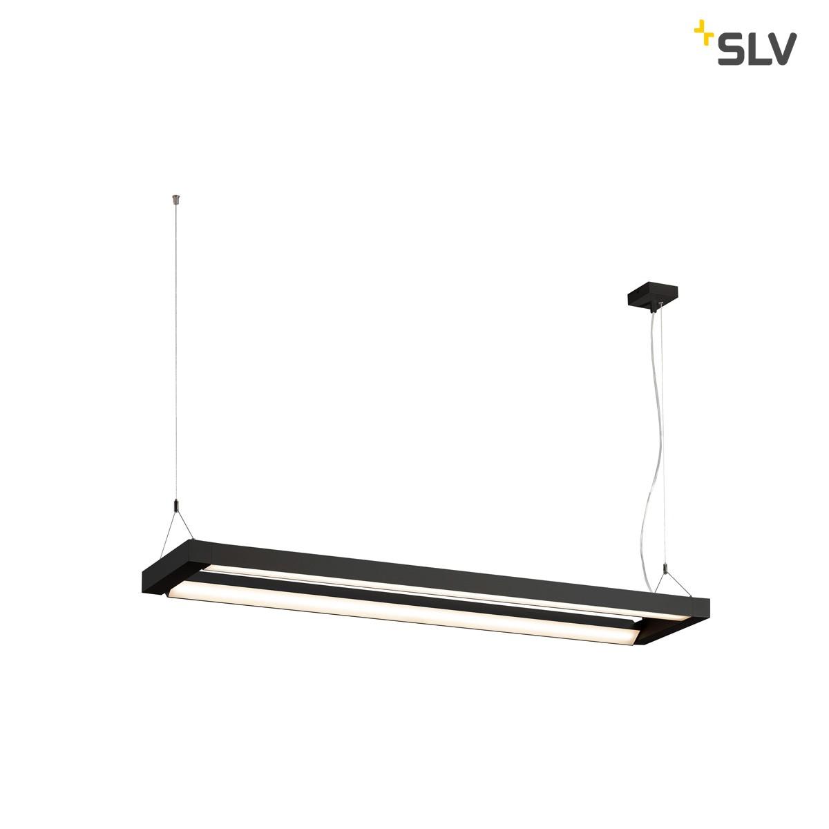 SLV Long Grill Pendelleuchte, schwarz
