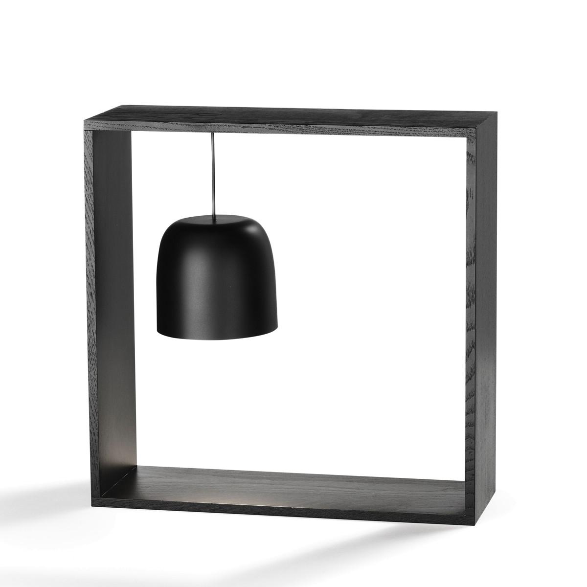 Flos Gaku Wire LED Tischleuchte, schwarz, Rahmen: Schwarzesche