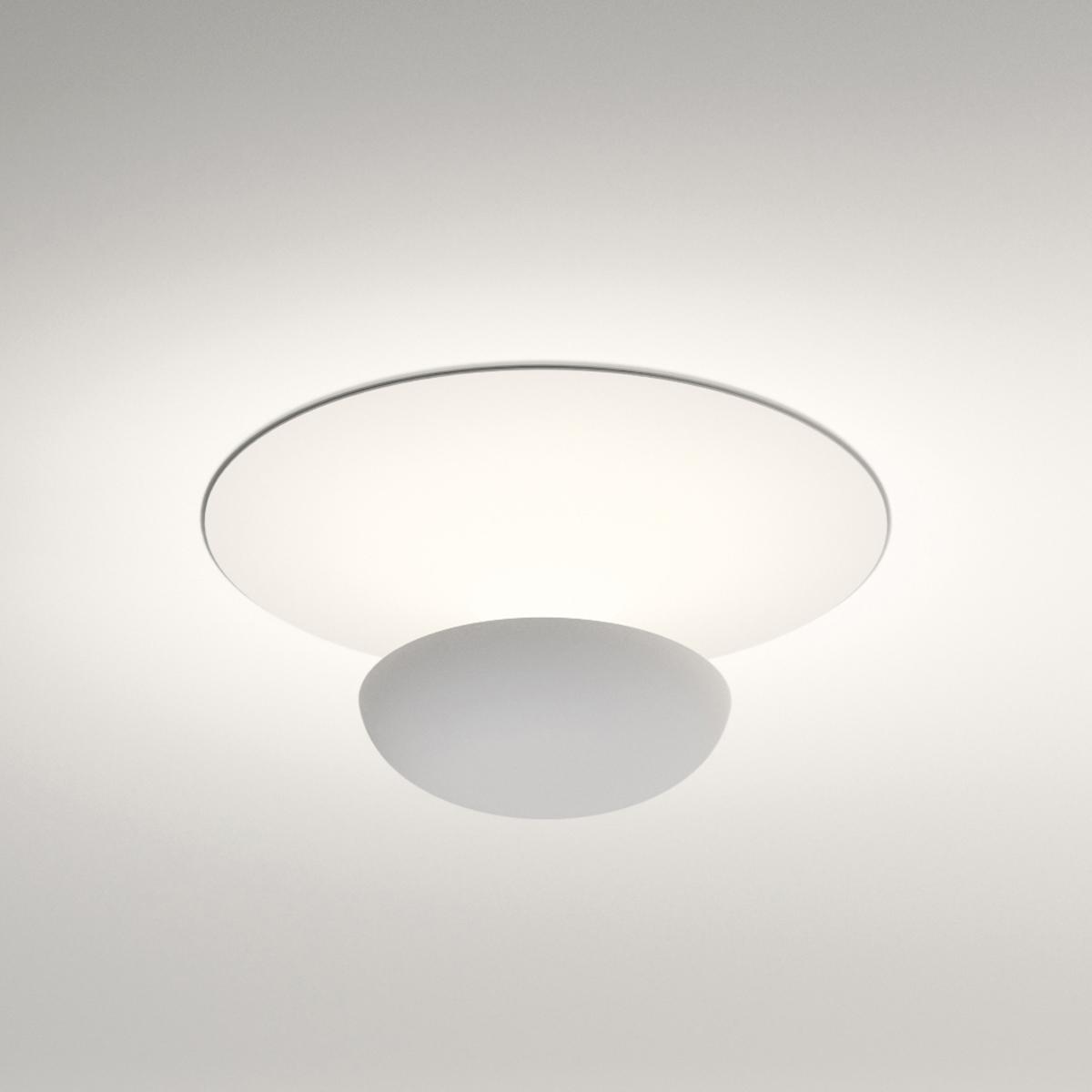 vibia funnel mini led wand deckenleuchte 22 cm. Black Bedroom Furniture Sets. Home Design Ideas