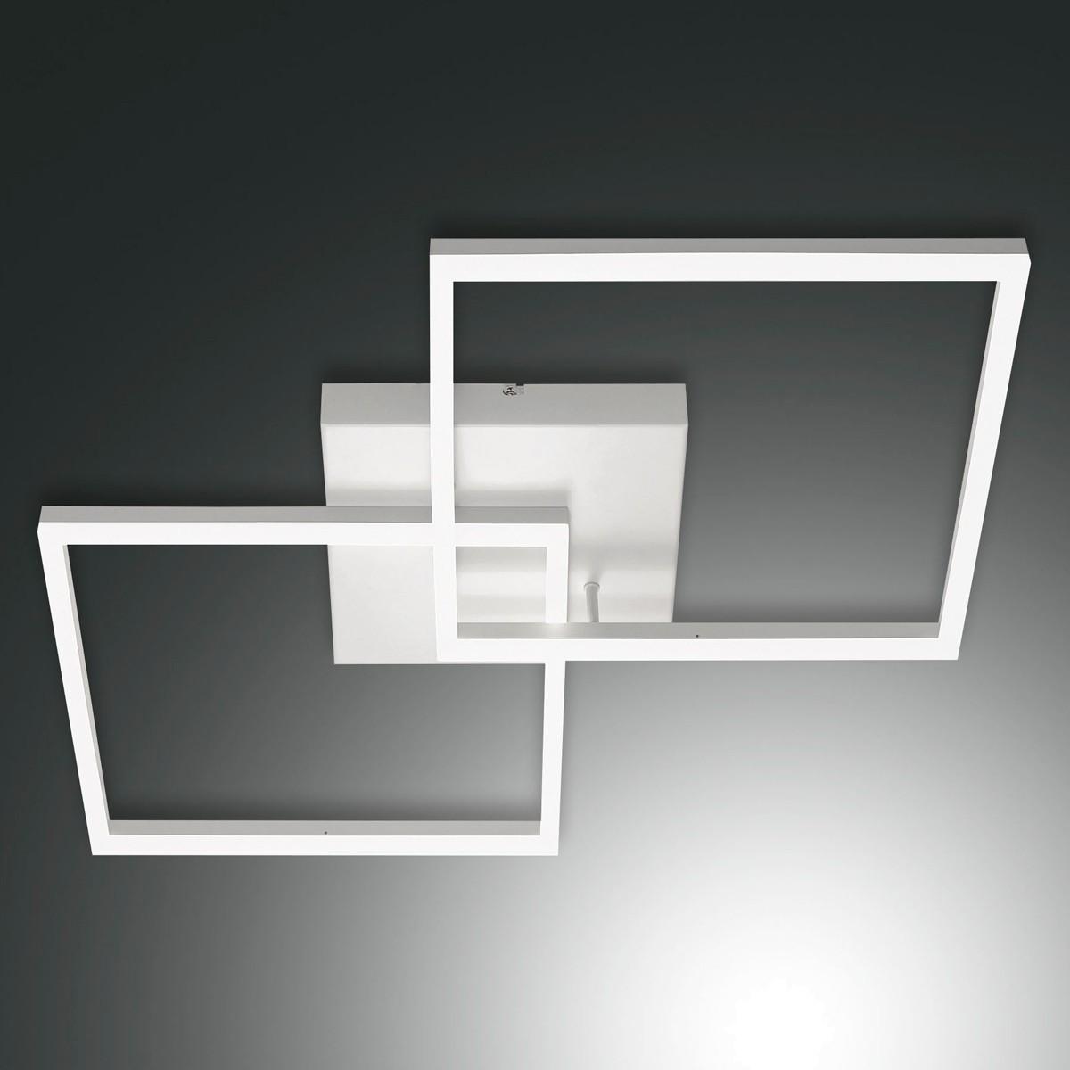 Fabas Luce Bard 3394-65 LED Deckenleuchte, weiß