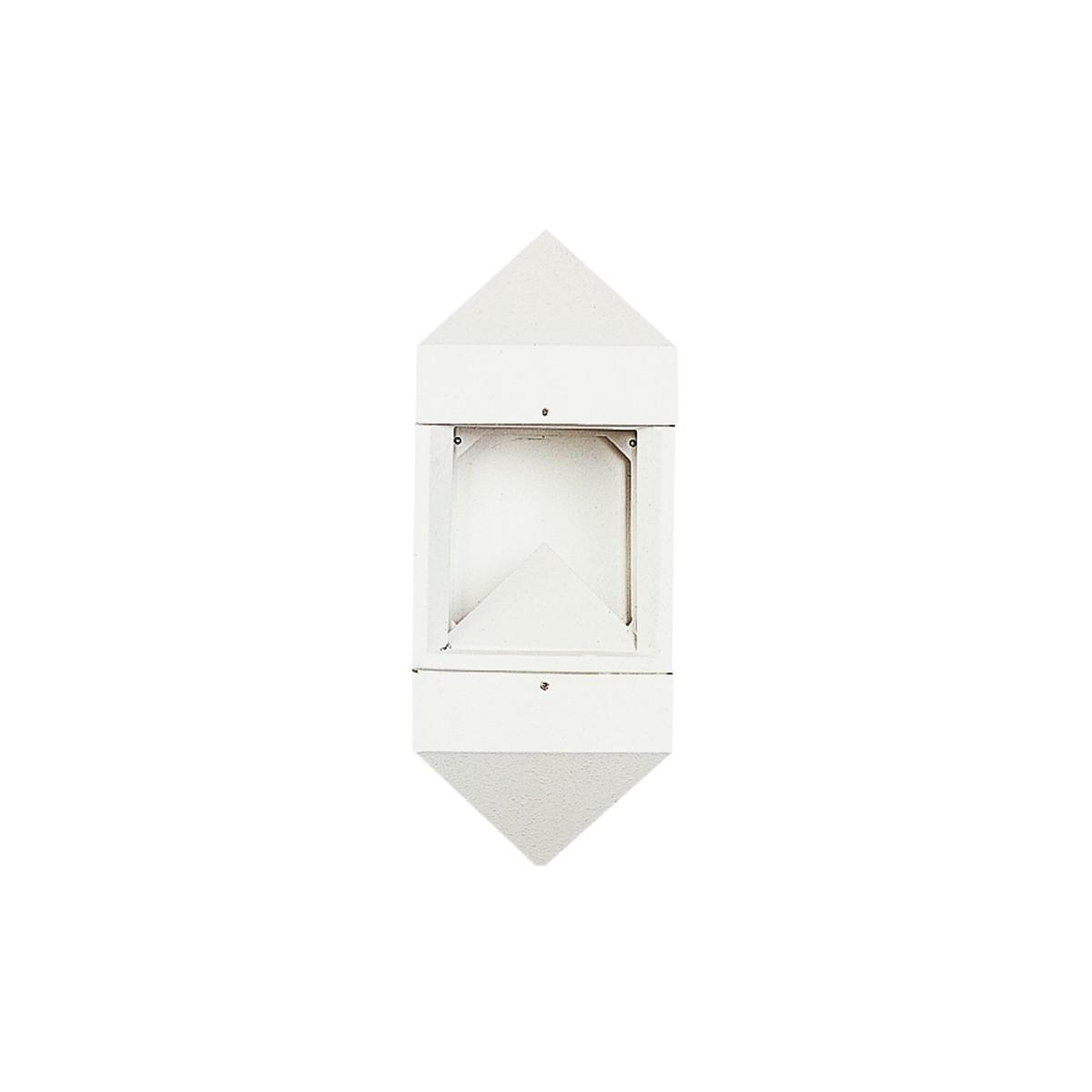 Albert 0699 Außenwandleuchte LED, weiß