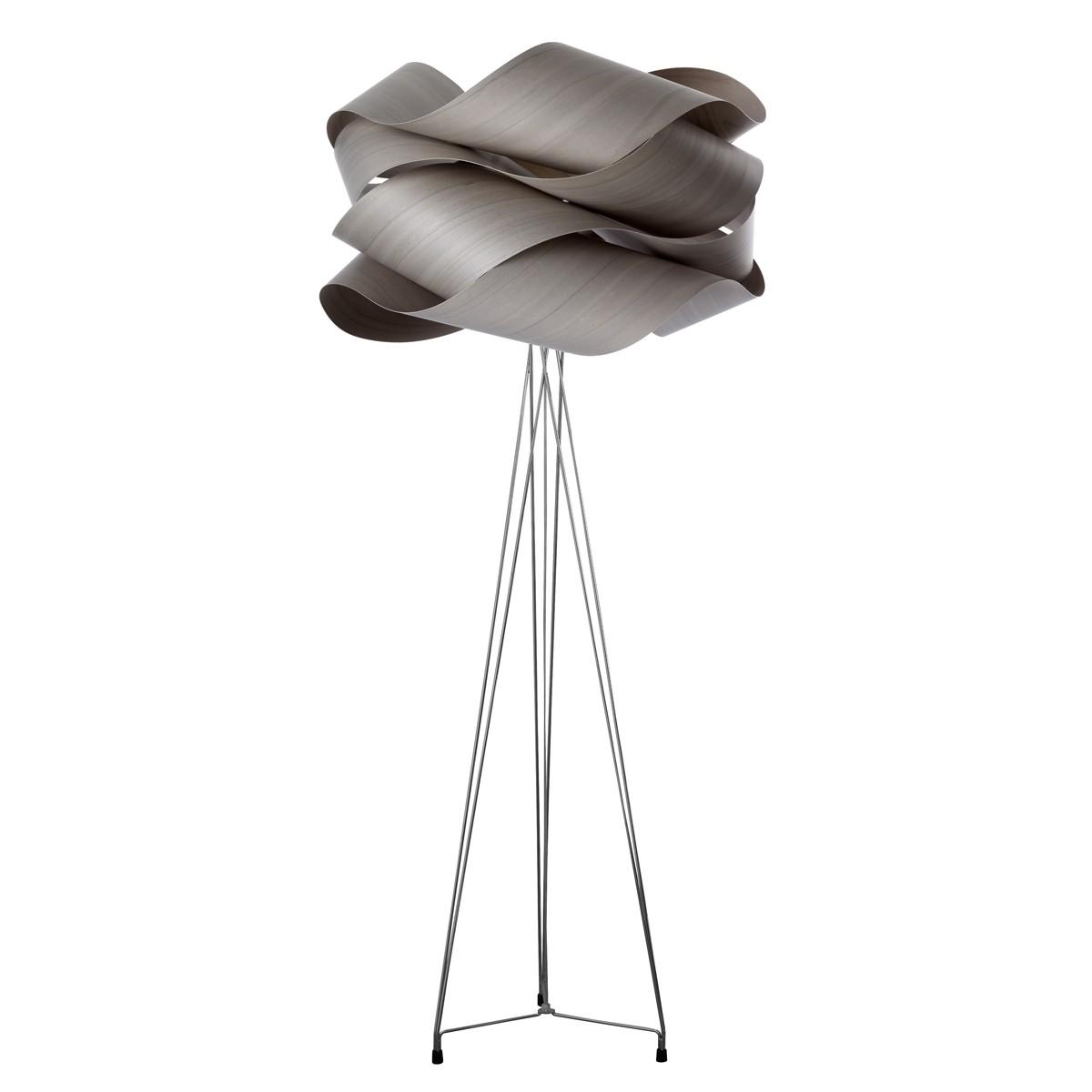 LZF Lamps Link Stehleuchte, Schirm: grau