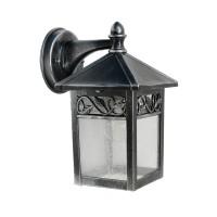 Elstead Lighting GZH Winchcombe Außenwandleuchte, Silber / schwarz