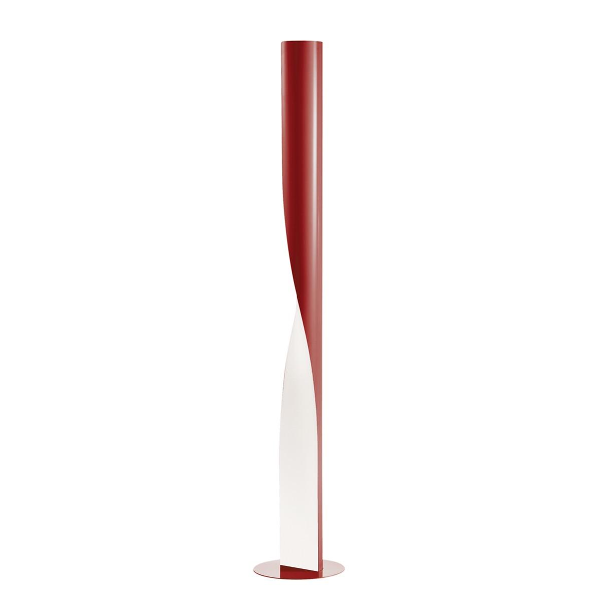 Kundalini Evita Stehleuchte, rot glänzend