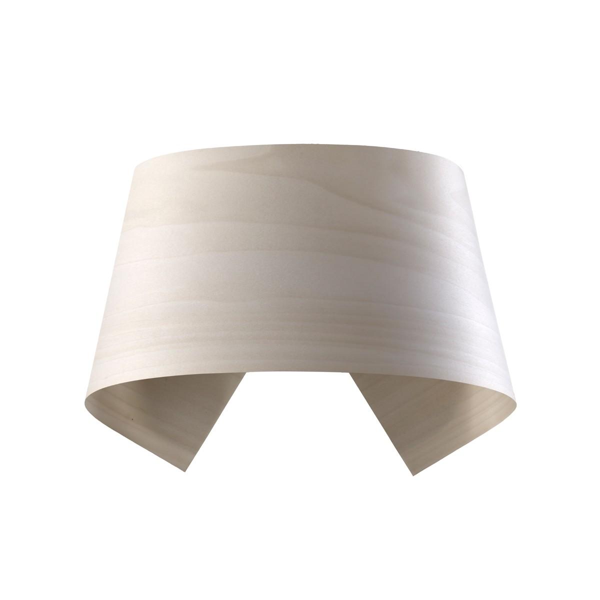 LZF Lamps Hi-Collar LED Wandleuchte, elfenbeinweiß