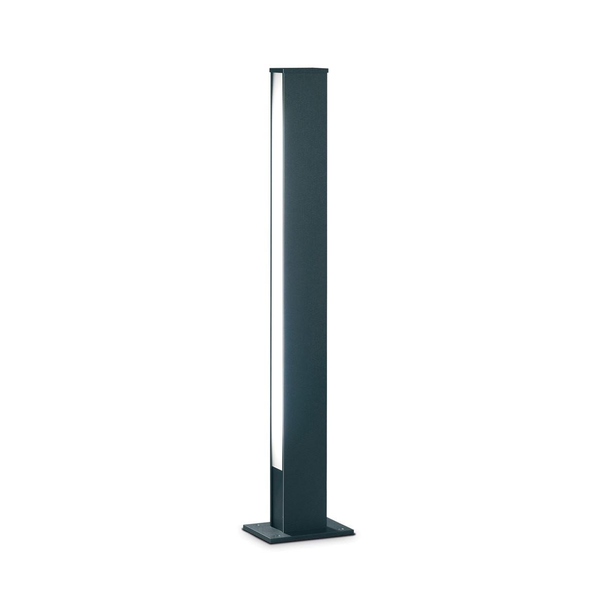 Helestra Tendo 44 Außenstehleuchte, Höhe: 108 cm, Lichtaustritt einseitig