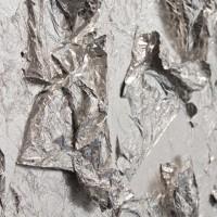 Luna Piena Deckenleuchte, Ø: 80 cm, Silber