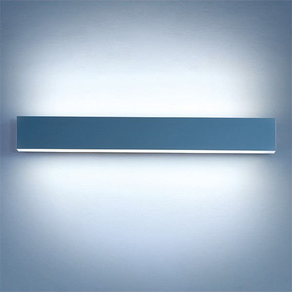 Lightnet Matric-W4 Wandleuchte, Mikroprismatik, Aluminium natureloxiert