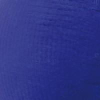 PostKrisi Tischleuchte, Ø: 40 cm, Höhe: 65 cm, Schirm: blau, Gestell: Nickel