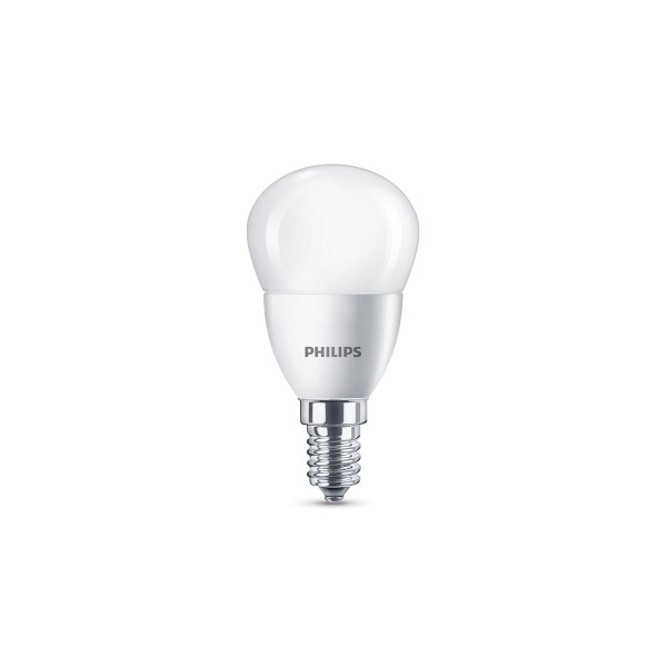 Philips LED Tropfen E14 5,5 W, warmweiß, matt