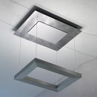 Della Luna Deckenleuchte LED, Aluminium eloxiert