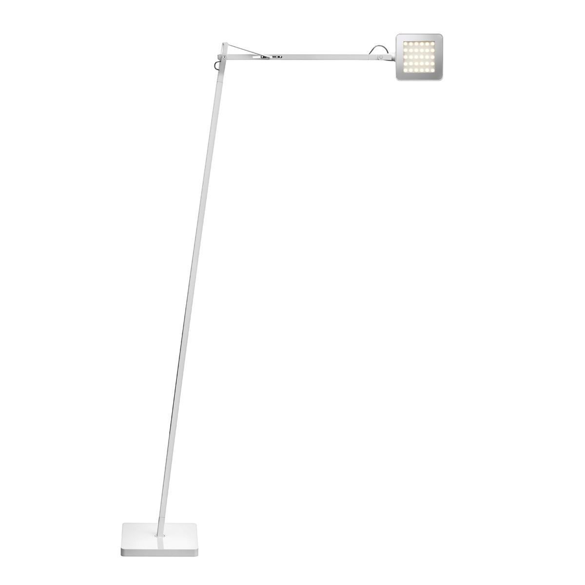 Flos Kelvin LED F Stehleuchte, weiß glänzend