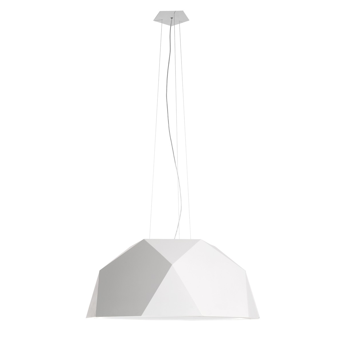 Fabbian Crio Pendelleuchte, Ø: 115 cm, weiß