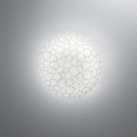 Artemide Meteorite 15 Mini Parete / Soffitto LED, weiß