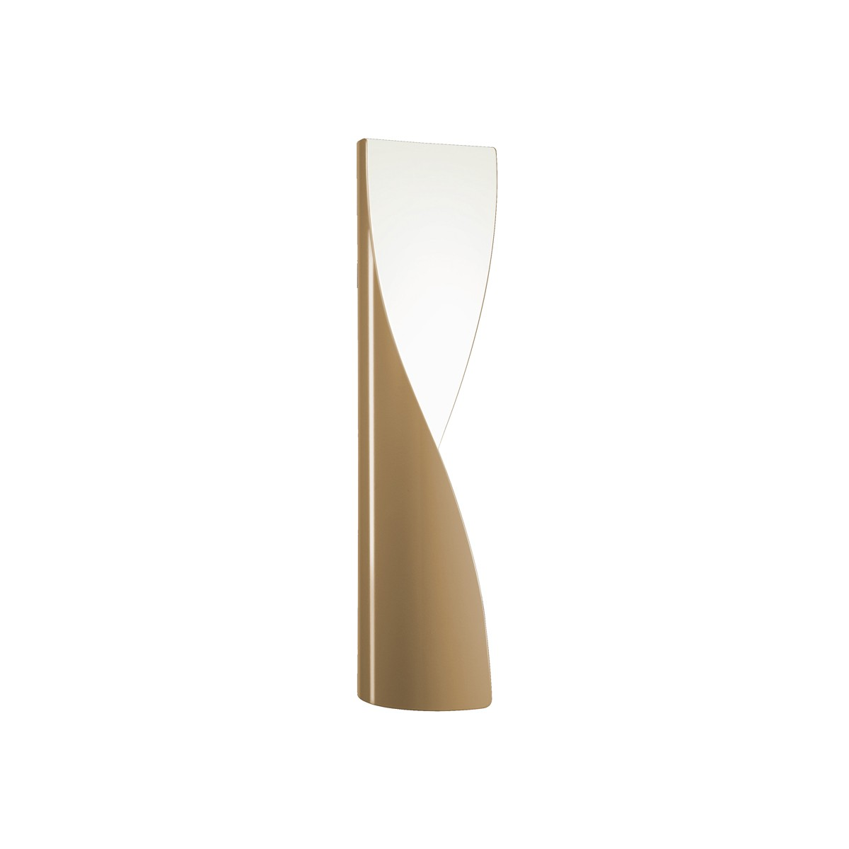 Kundalini Evita LED Wandleuchte, beige glänzend