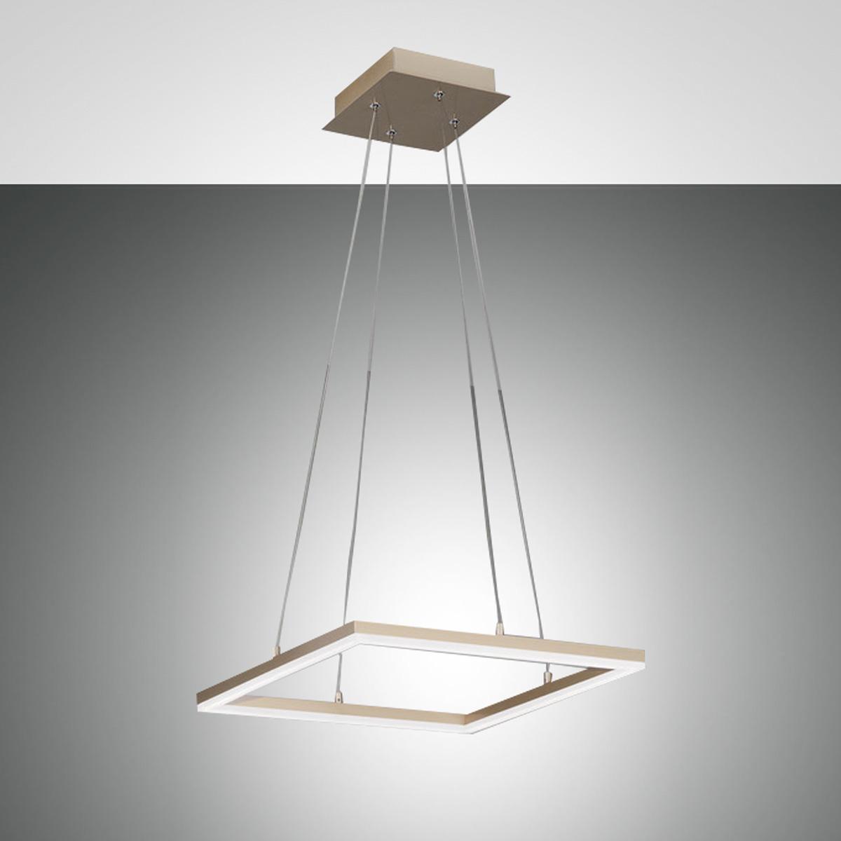 Fabas Luce Bard LED Pendelleuchte, quadratisch 3394-40-225