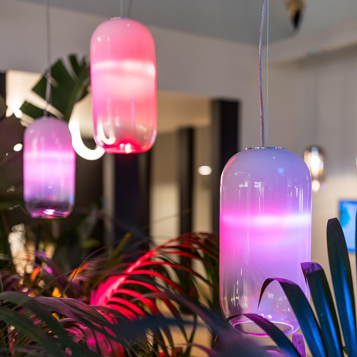 Artemide Gople Lamp RWB LED Sospensione