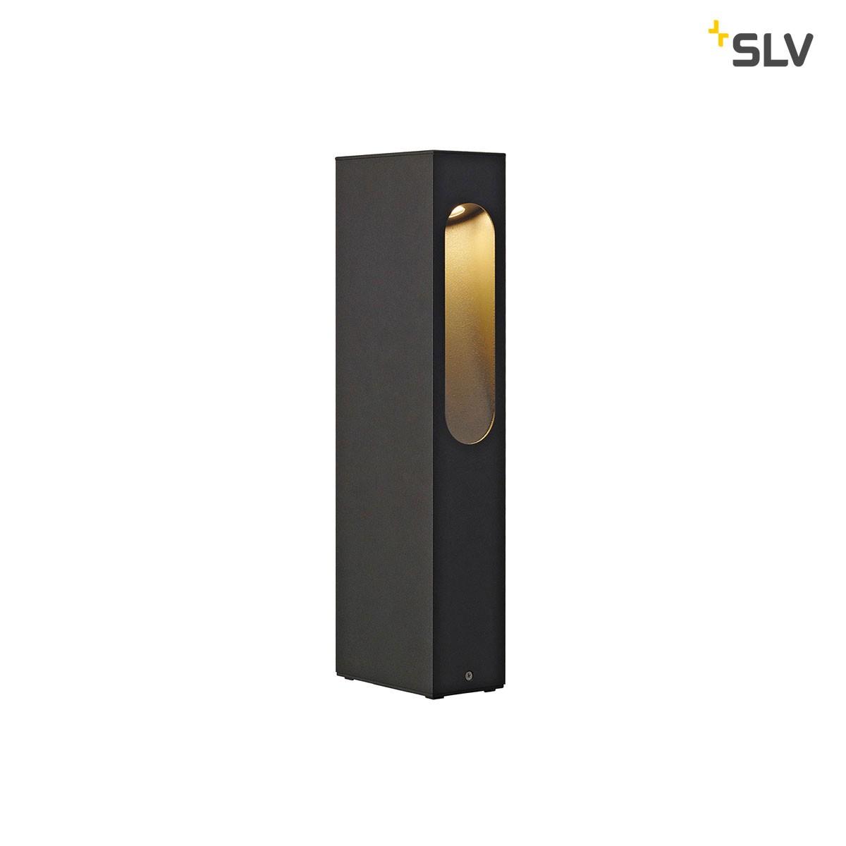 SLV Slotbox Außenstehleuchte, Höhe: 40 cm, anthrazit