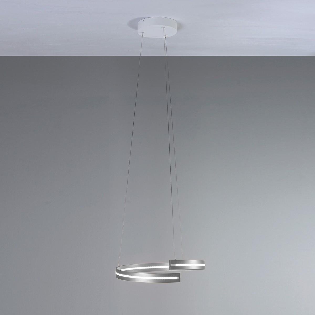 Bopp Break LED Pendelleuchte Ø: 40 cm, Aluminium geschliffen
