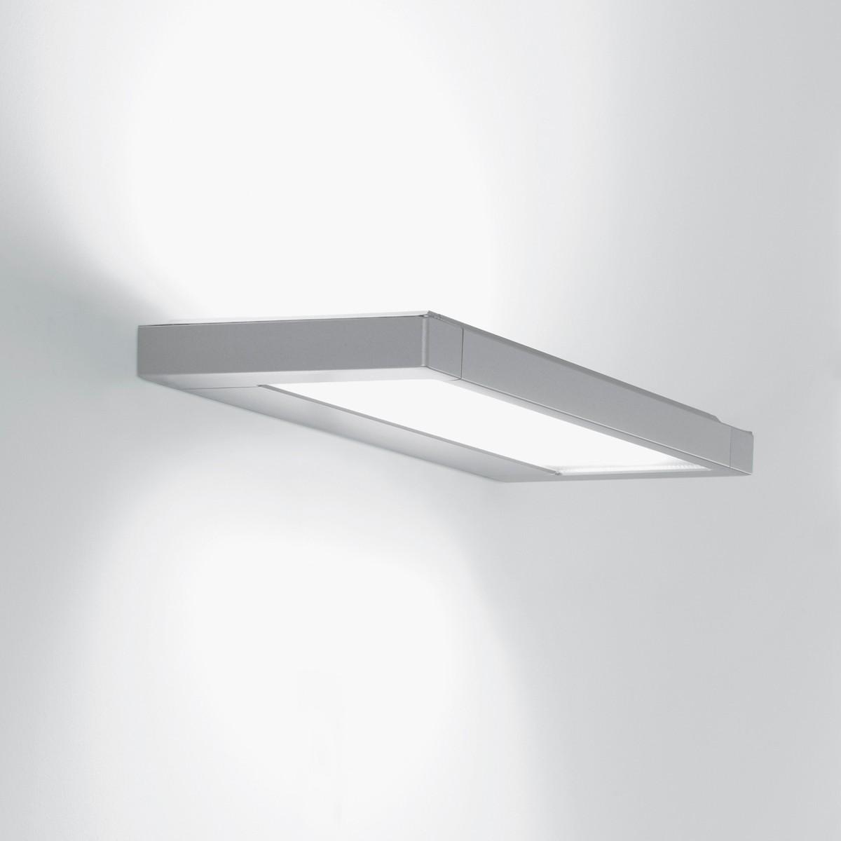 Belux Flat Wandleuchte, Breite: 63,5 cm, Aluminium