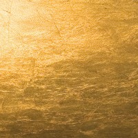 Lederam W Wand- / Deckenleuchte, Ø: 17 cm, Scheiben: Gold