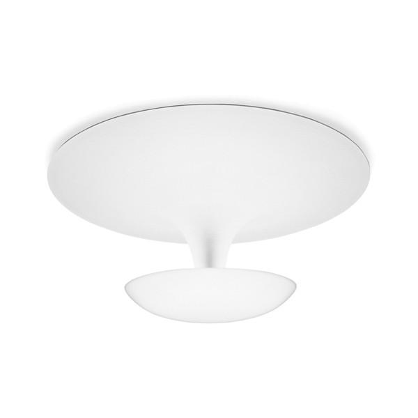 Vibia Funnel 2005 Wand- / Deckenleuchte, Ø: 35 cm, weiß glänzend