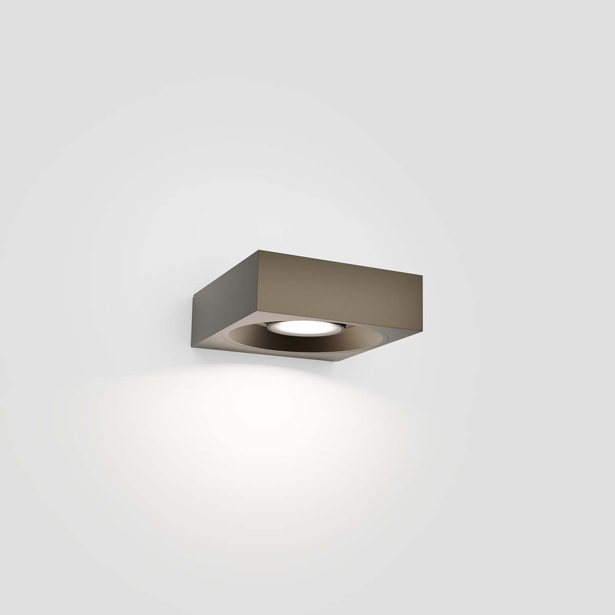 IP44.de Pip LED Außenwandleuchte, cool brown (braun)