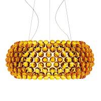 Caboche Grande LED Sospensione, giallo oro (goldgelb)