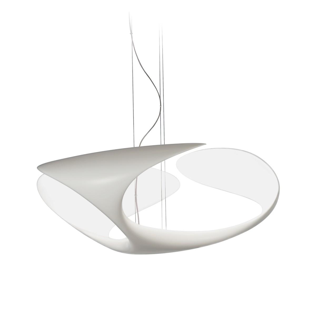 Kundalini Clover LED Pendelleuchte, weiß