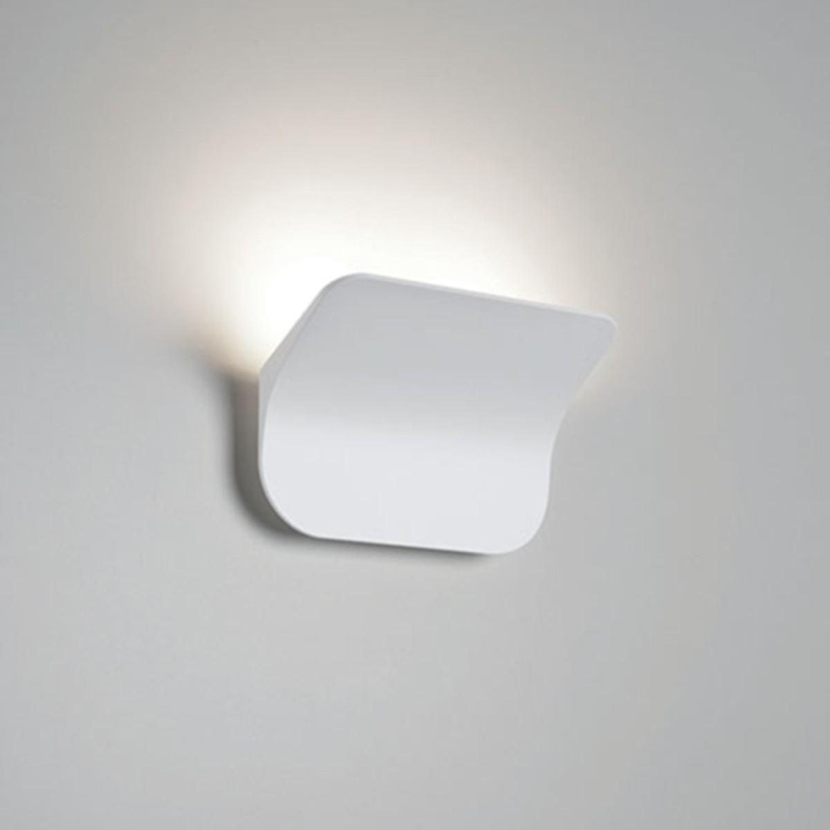Rotaliana Tide W0 LED Wandleuchte, 2700 °K, weiß matt