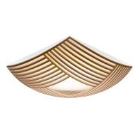 Secto Design Kuulto 9100 Wand- / Deckenleuchte, Walnussfurnier