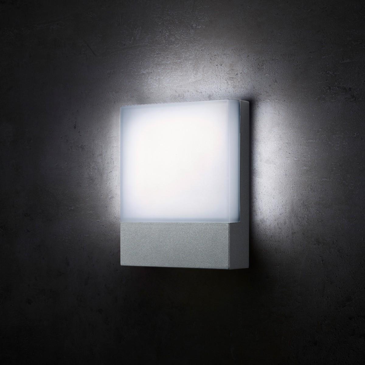 Lupia Licht Pad Außenwandleuchte, anthrazit