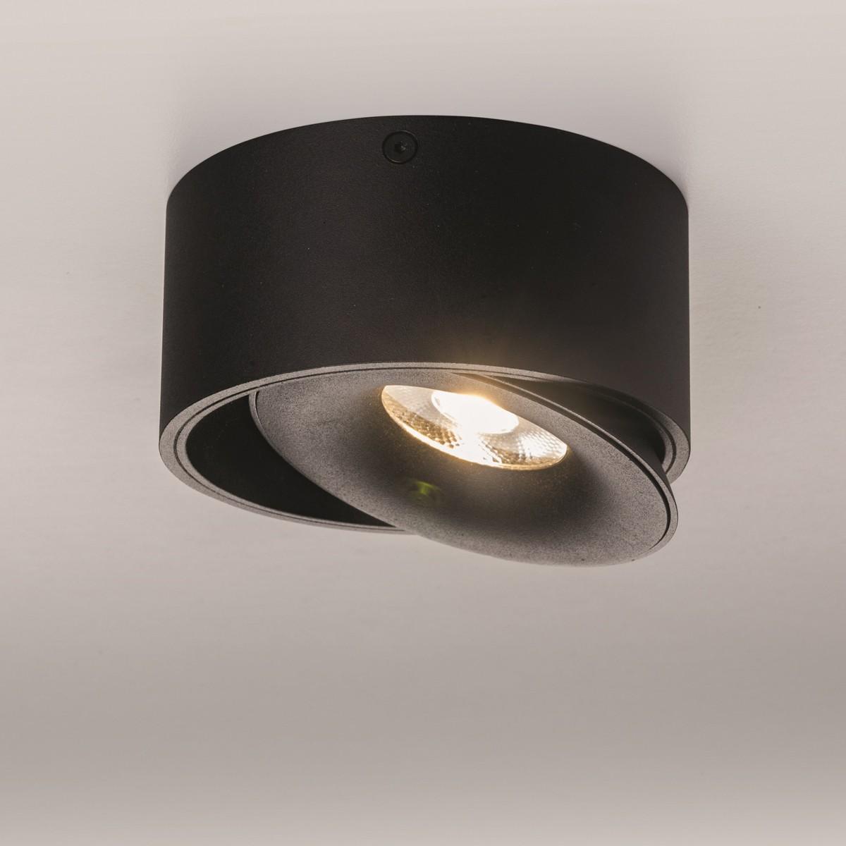 Lupia Licht Saturn LED Deckenstrahler, schwarz