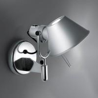Tolomeo Faretto LED, mit Schalter, Aluminium