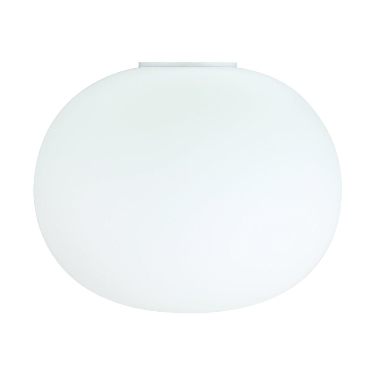 Flos Glo-Ball C Deckenleuchte, C2, Ø: 45 cm, weiß