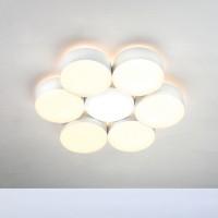 Bopp Touch LED Deckenleuchte 6-flg., rund, weiß
