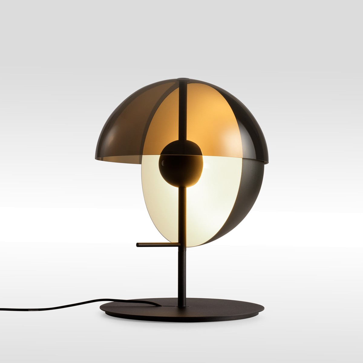 Marset Theia M LED Tischleuchte, schwarz