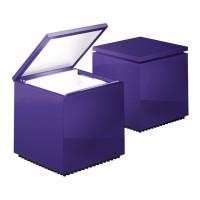 Cuboled Tavolo, violett