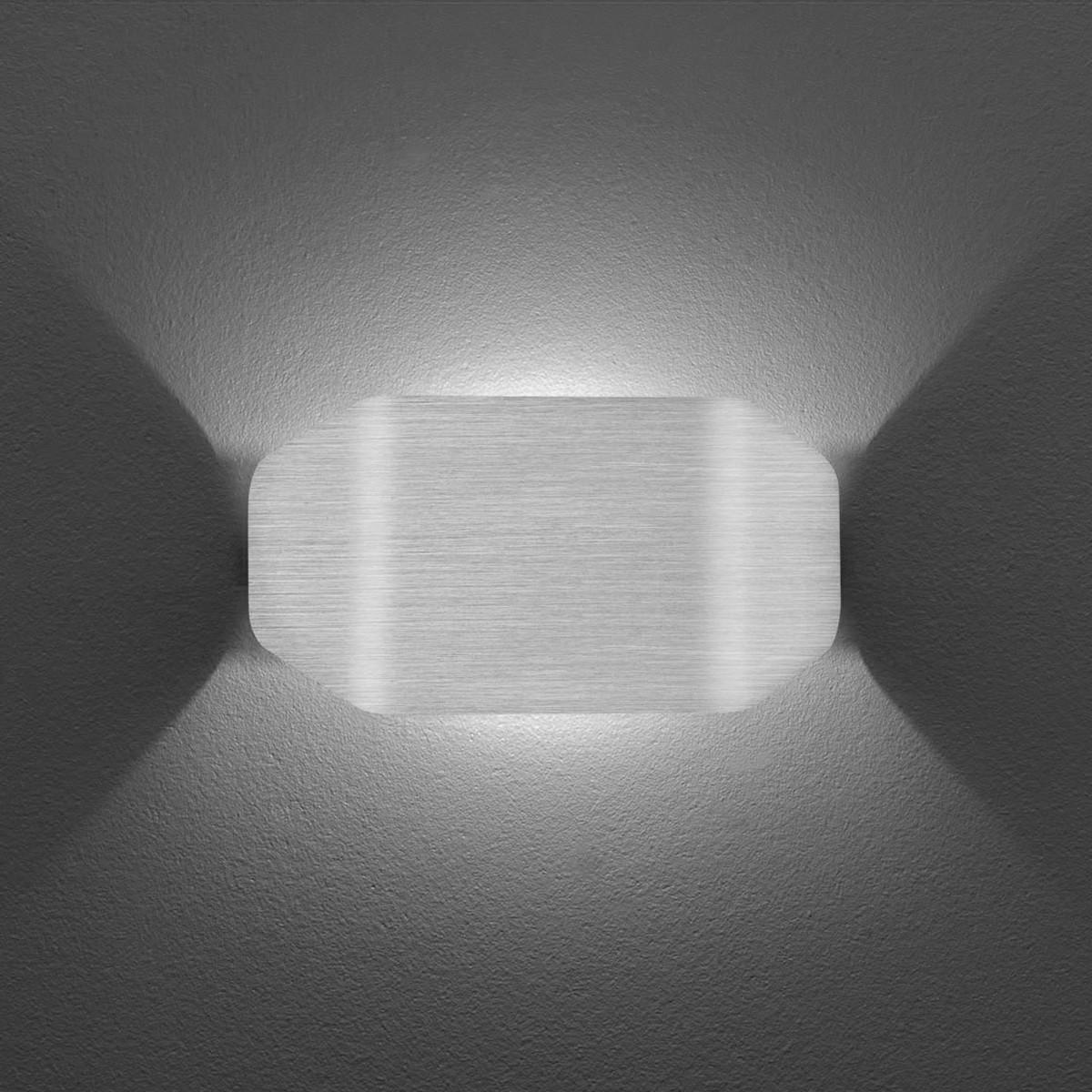 B-Leuchten Knut Wandleuchte, Aluminium