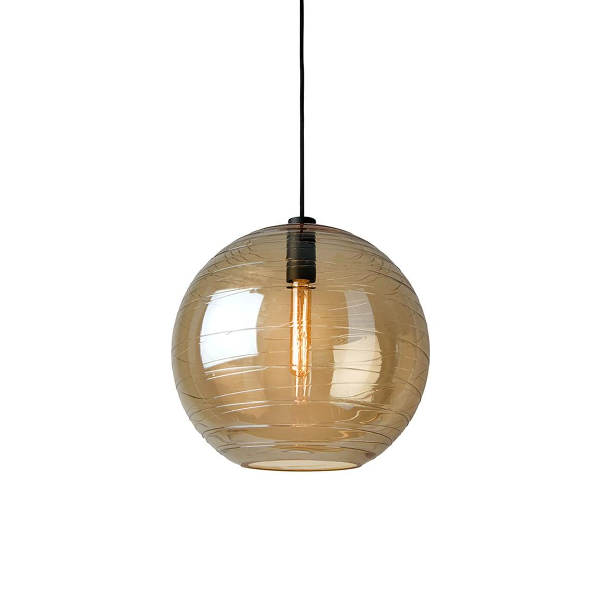 Sompex Lantaren Pendelleuchte, Glas: amber (goldbraun)