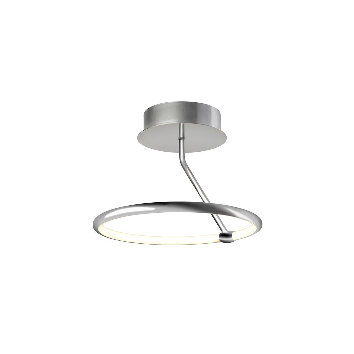 Sompex Circ LED Deckenleuchte, alufarben