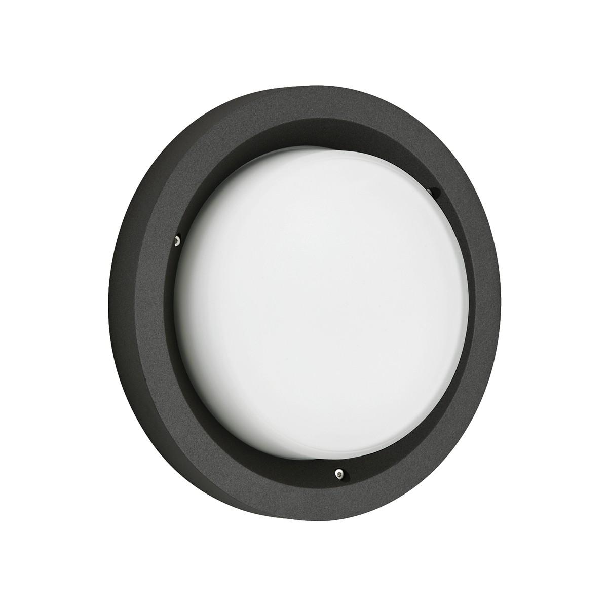 Albert 6410 Wand- / Deckenleuchte, schwarz