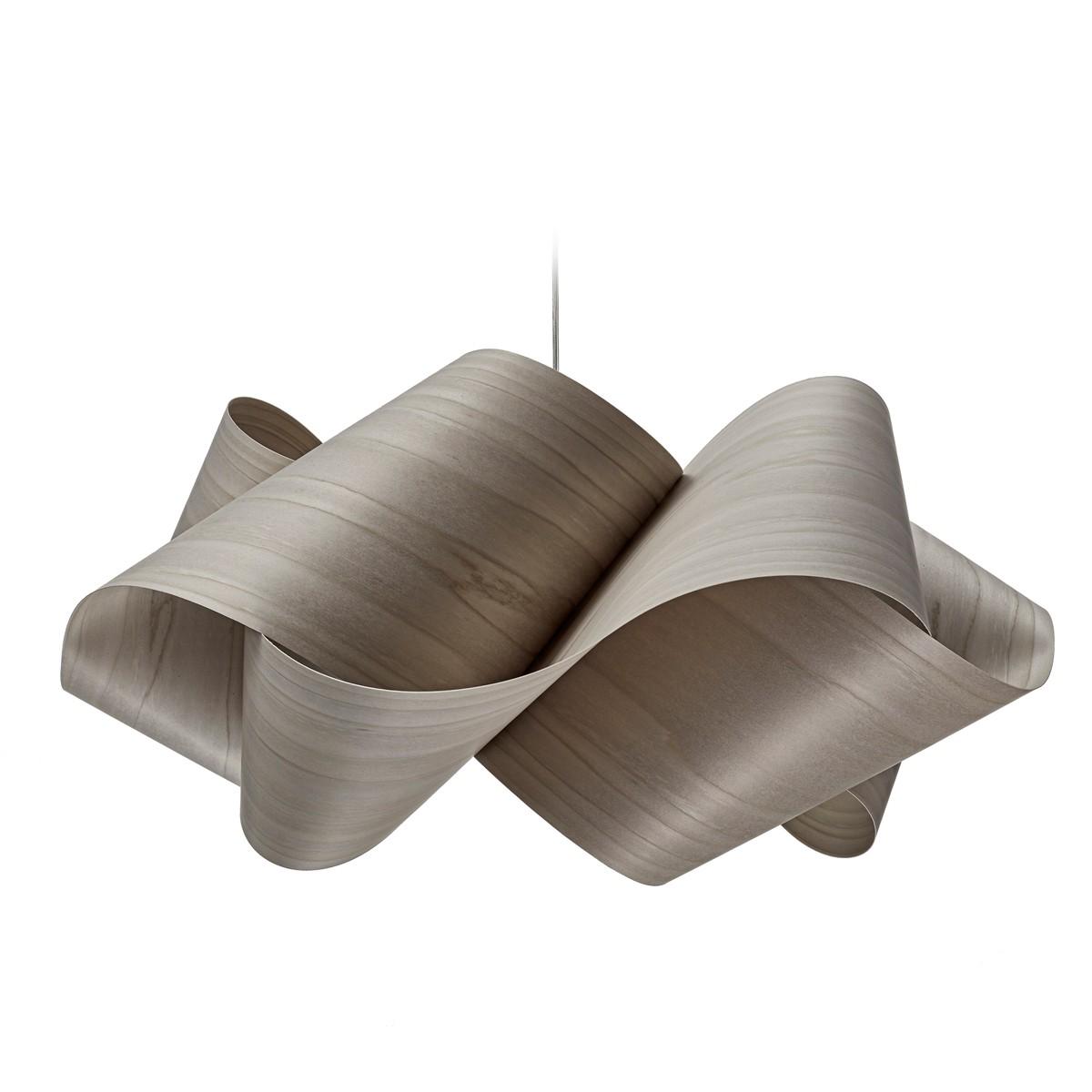 LZF Lamps Swirl Large Pendelleuchte, grau
